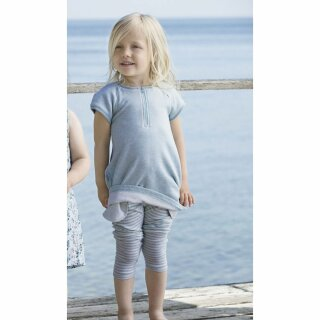 Sweat-Kleid blau